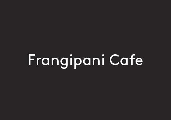Frangipani Cafe logo