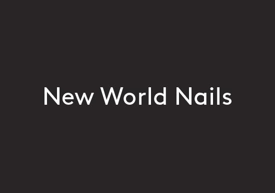 New World Nails logo